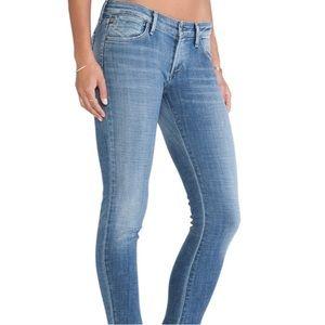AGOLDE Chloe Low Rise Skinny Jeans